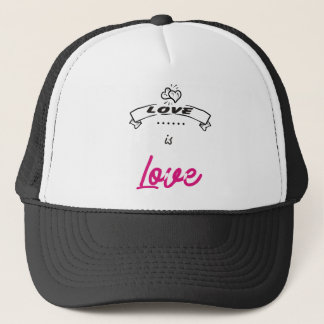 LOVE. TRUCKER HAT