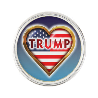 Love Trump Lapel Pin