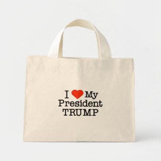Love Trump Mini Tote Bag