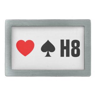 LOVE TRUMPS HATE - <3 <3< H8 BELT BUCKLE