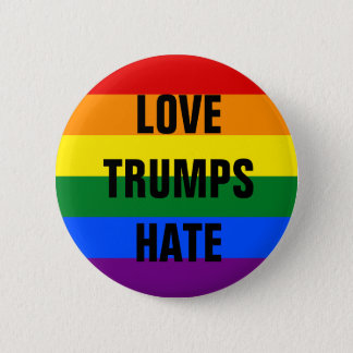 Love Trumps Hate - button