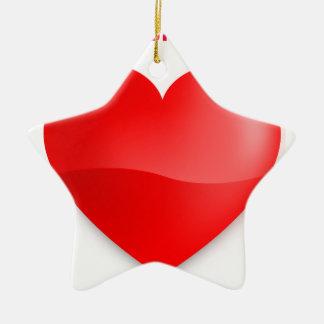 love trumps hate ceramic ornament