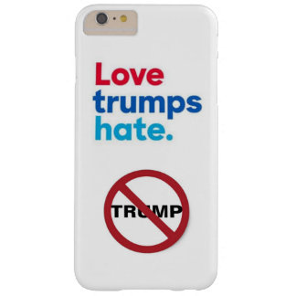 love trumps hate circle slash barely there iPhone 6 plus case