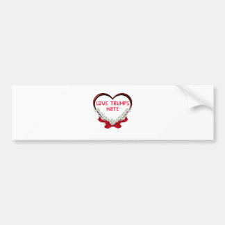 love trumps hate donald gift t shirt bumper sticker