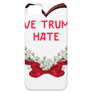 love trumps hate donald gift t shirt case for the iPhone 5