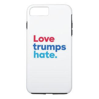 Love trumps hate. iPhone 7 plus case
