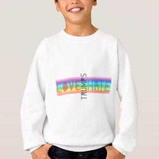 LOVE TRUMPS HATE LGBT RAINBOW SWEATSHIRT