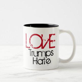 Love Trumps Hate Mug