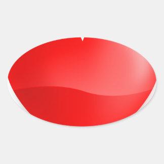 love trumps hate oval sticker