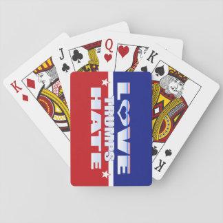 Love Trumps Hate Poker Deck