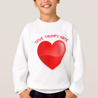 love trumps hate, red heard donald gift t shirt