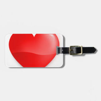 love trumps hate, red heard donald gift t shirt luggage tag