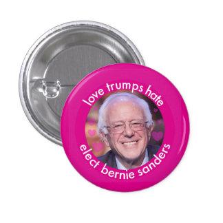 Love Trumps Hate (small) 1 Inch Round Button
