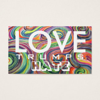 LOVE trumps HATE XII Business Card