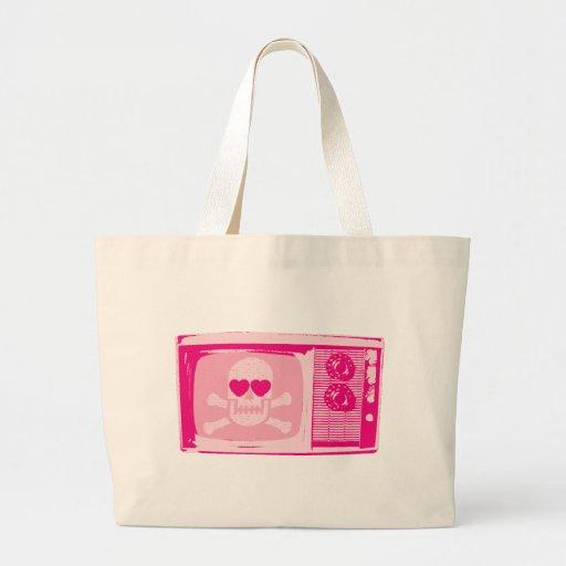 LOVE-TV-PINK BAG
