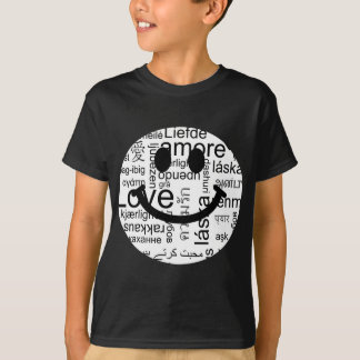 Love typography smiley T-Shirt