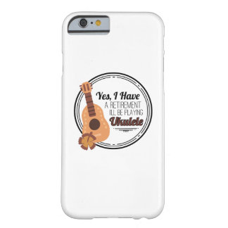 Love Ukelele Uke Music Lover Funny Gift Barely There iPhone 6 Case