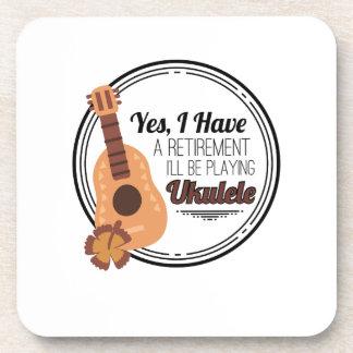 Love Ukelele Uke Music Lover Funny Gift Coaster