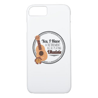 Love Ukelele Uke Music Lover Funny Gift iPhone 8/7 Case