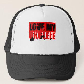Love Ukulele Trucker Hat