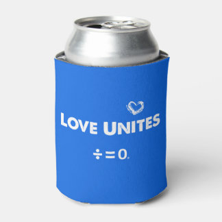 Love Unites Positive Unity Quote Can Cooler
