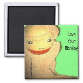 Love Ur Monkey! Magnet