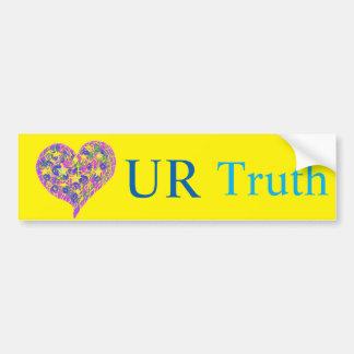 Love UR Truth Bumper Sticker