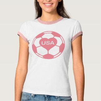 Love US Women's Soccer Team T-Shirt