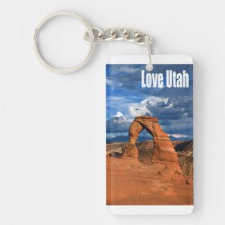 Love Utah Keychain