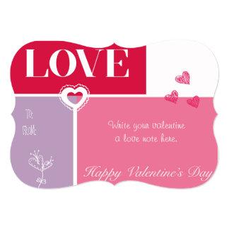 """""""LOVE"""" Valentine's Day Card"""