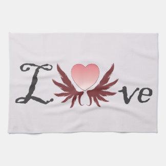 Love - valentine's day designs, kitchen towels
