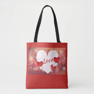 Love- Valentines Day Tote Bag
