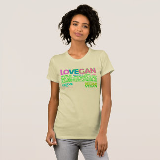 LOVE VEGAN. T-SHIRT. T-Shirt