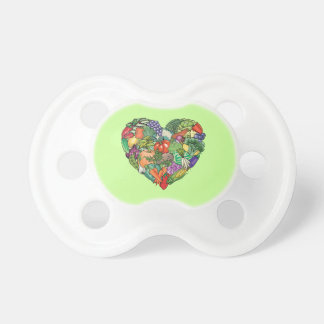 Love Vegetables Baby Pacifier