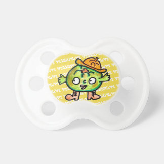 LOVE VEGETABLES!! - Pumpkin- Pacifier