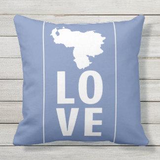 Love Venezuela Outdoor Pillow