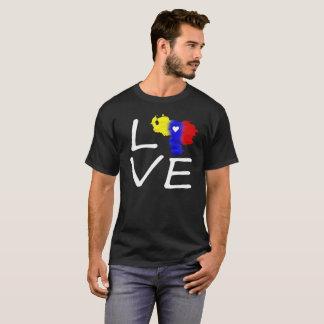 love Venezuela tricolor T-Shirt