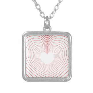 ♥♥ Love Vibrations ♥♥ Silver Plated Necklace