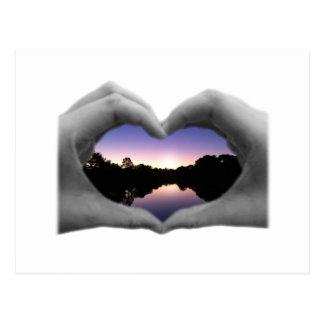 Love Vision Postcard