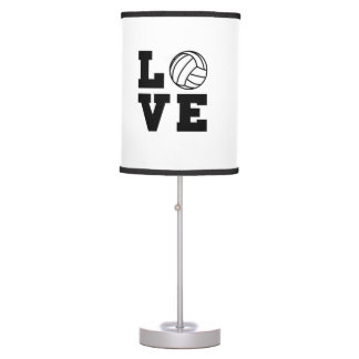 Love Volleyball Desk Lamp