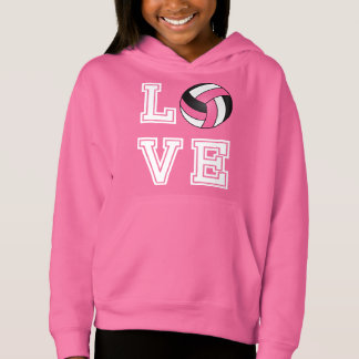 Love Volleyball - Pink, White and Black