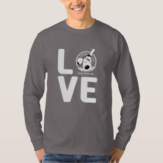 LOVE Waggin' Tails VOLUNTEER - dark T-Shirt