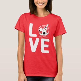 LOVE Waggin' Tails - women's dark T-Shirt