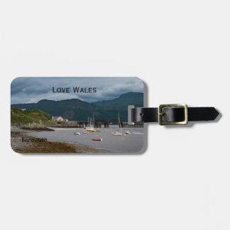 Love Wales Barmouth Luggage Tag
