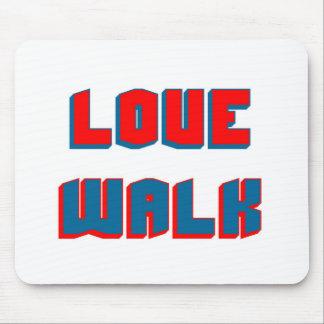 Love walk mouse pad