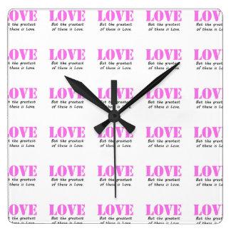 Love Wall Clocks