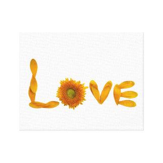 Love Wall Decor Canvas Print