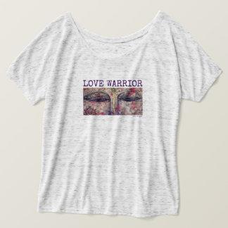 Love Warrior Buddha Eyes Women's Flowy T-Shirt