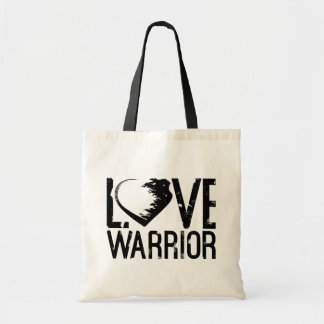 Love Warrior Tote Bag