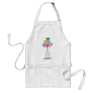 Love Watercolor Cute Standard Apron